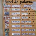 'Painel de palavras'