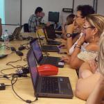 """Oficina """"Matemática & Tecnologias: o uso das tecnologias para auxiliar o professor nas aulas de Matemática"""